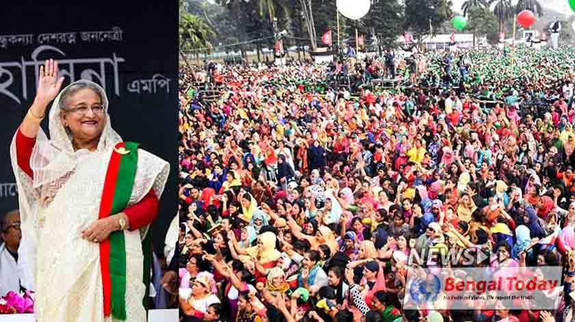 বাংলাদেশ হবে উন্নত-সমৃদ্ধ সোনার বাংলাদেশ: শেখ হাসিনা