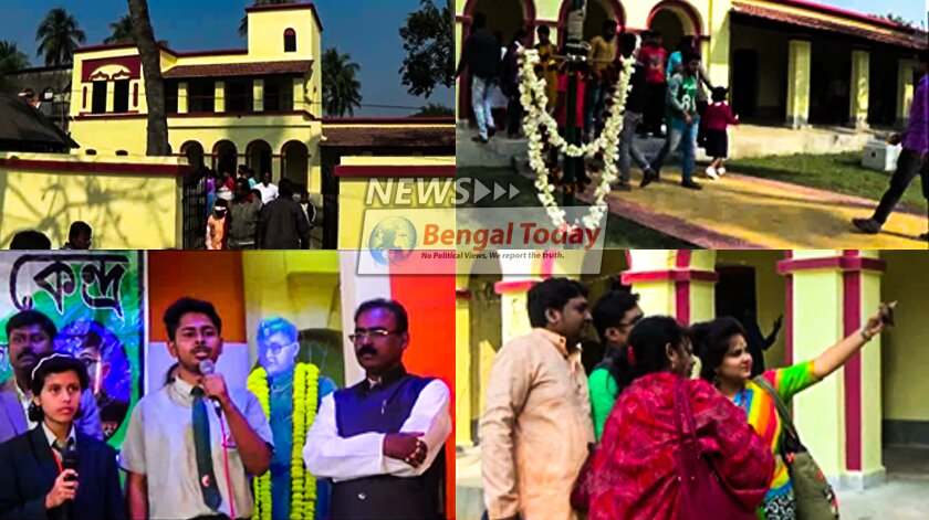 সোনারপুরের কোদালিয়ায় জমজমাট সুভাষ চন্দ্র বসুর পৈতৃক ভিটে