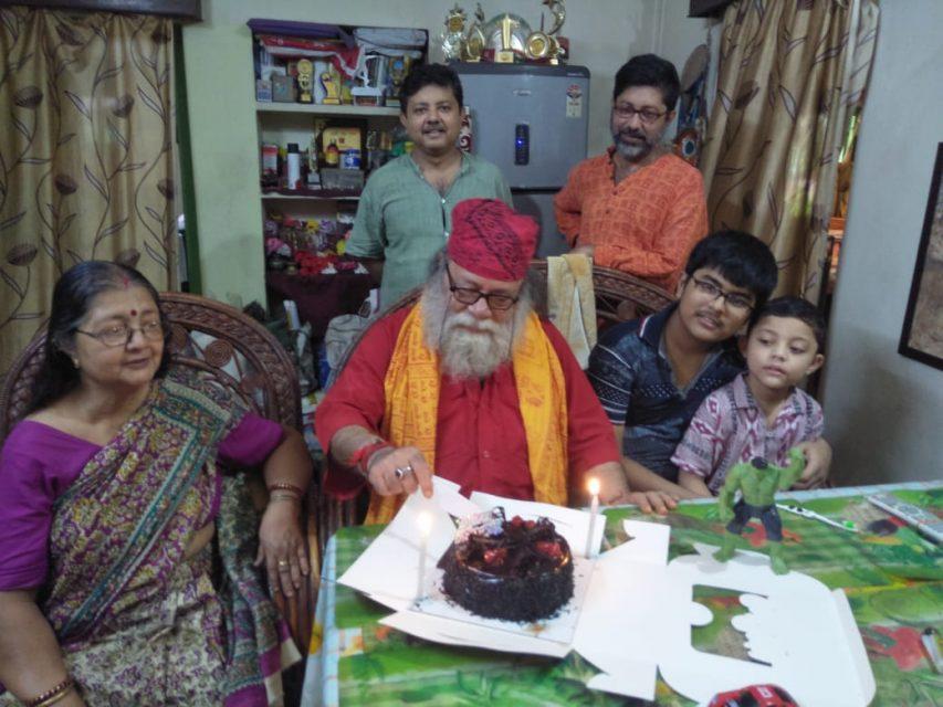 """""""লাল পাহাড়ির দেশে""""র স্রষ্টা অরুন কুমার চক্রবর্তীর ৭৫ বছর পূর্তি"""